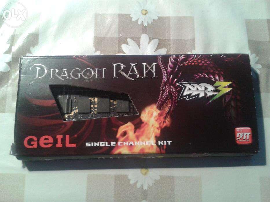 Memorie Dragon Ram Geil 4 GB singel channel ddr3