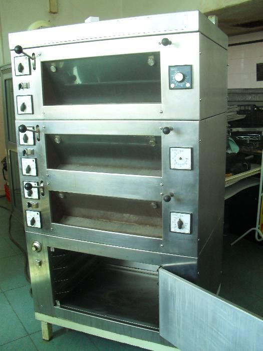 Подова печка немска - фурна за хляб Winkler Wachtel + втасална камера