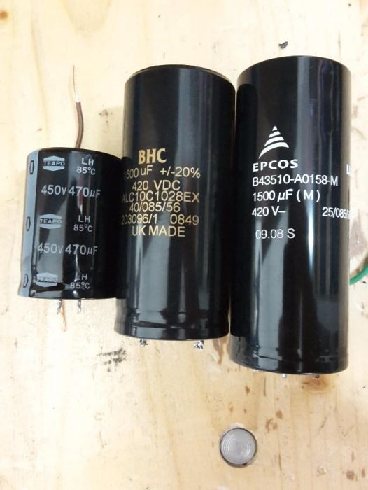 Електролитни кондензатори, пускови полимерни кондензатор