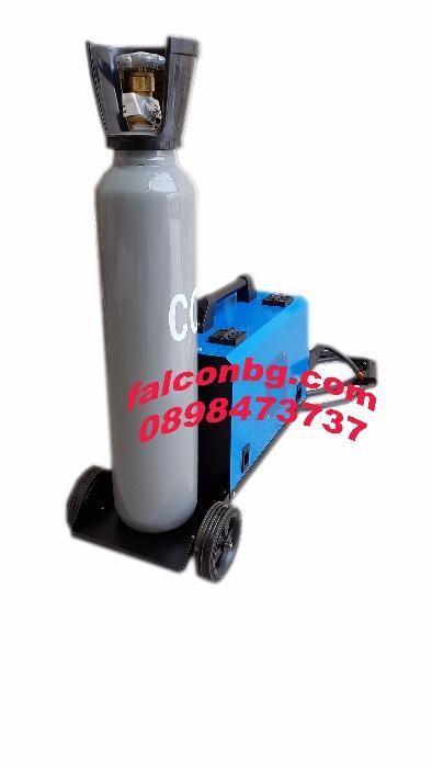 CO2 Телоподаващ апарат MIG-220N с количка и еврошланг