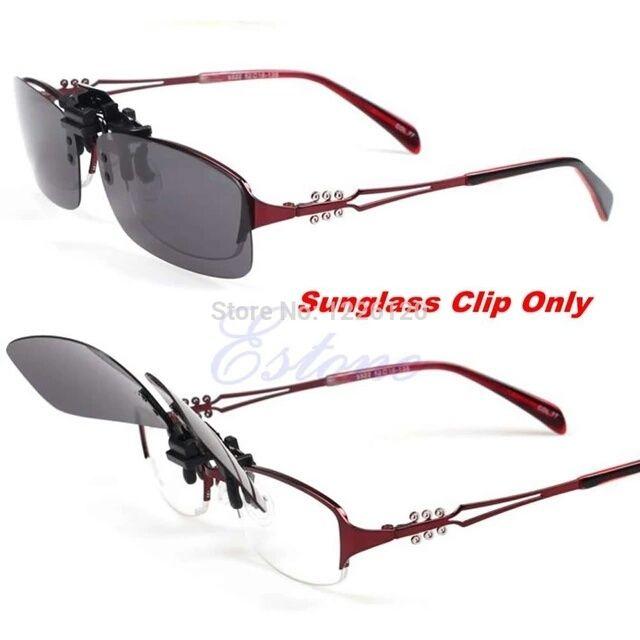 Откидные поляризационные накладки на очки