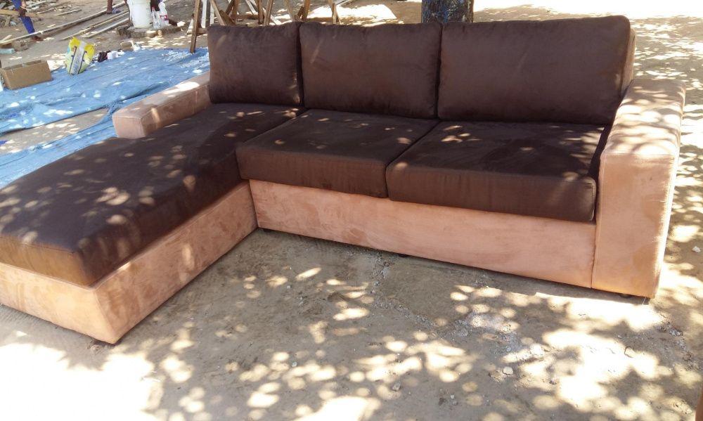 Conjunto de sofás modernos