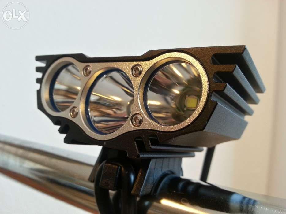 Far bicicleta lanterna SolarStorm X3 LED CREE U2 Solar Storm