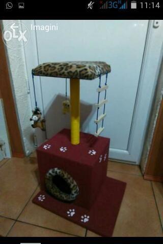 Casute cu sisal pentru pisici Pitesti - imagine 3
