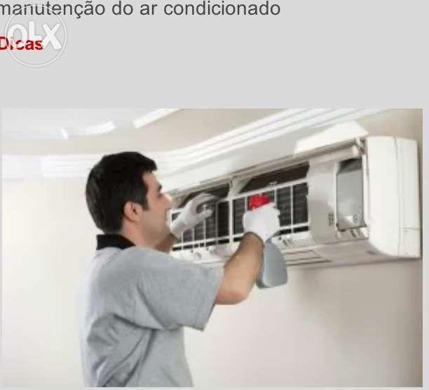 Faz - se Manutenção e Reparação Montagem de ar- Condicionado .