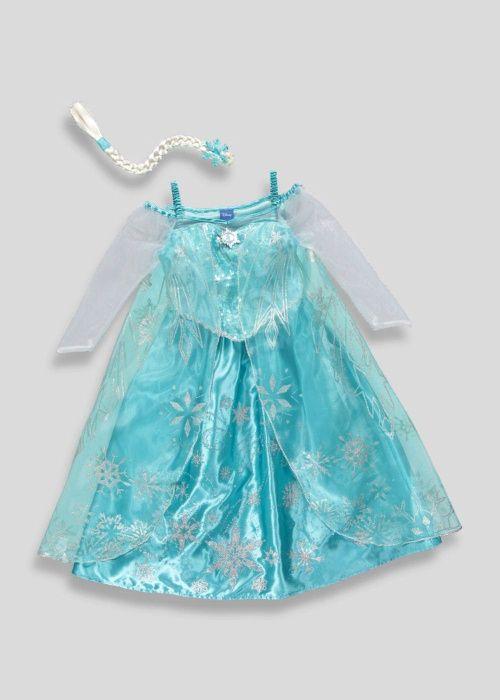 Rochie noua Disney + Coada + Crinolina Elsa din 3-4-5-6 ani Anglia