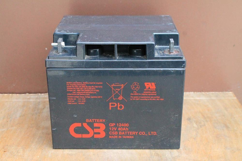 Американски гелов тягов акумулатор 40ач,гаранция