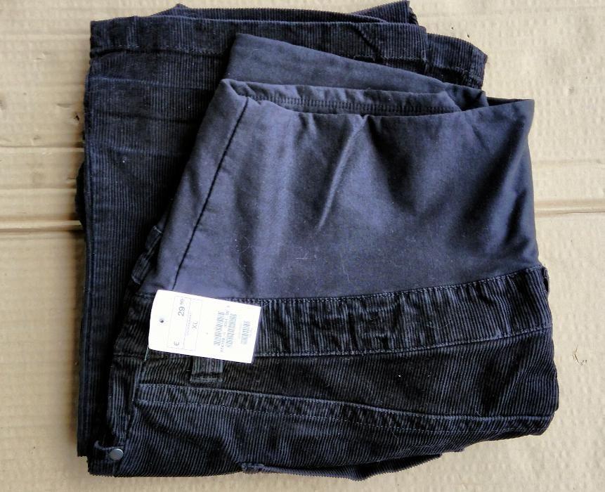 Панталон за бременни Н&М размер XL, черно кадифе