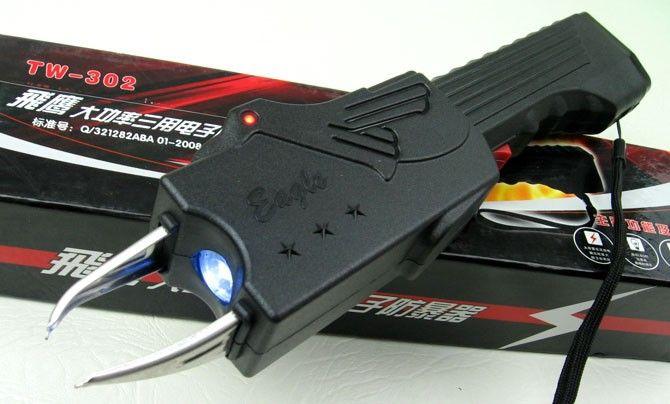 Electrosoc Baston Eagle TW-302 cu Lanterna