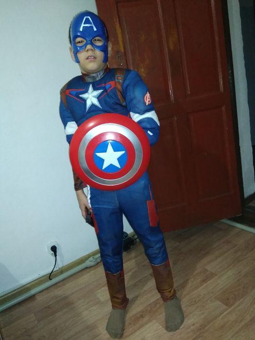 """Костюм """"Капитан Америка""""."""