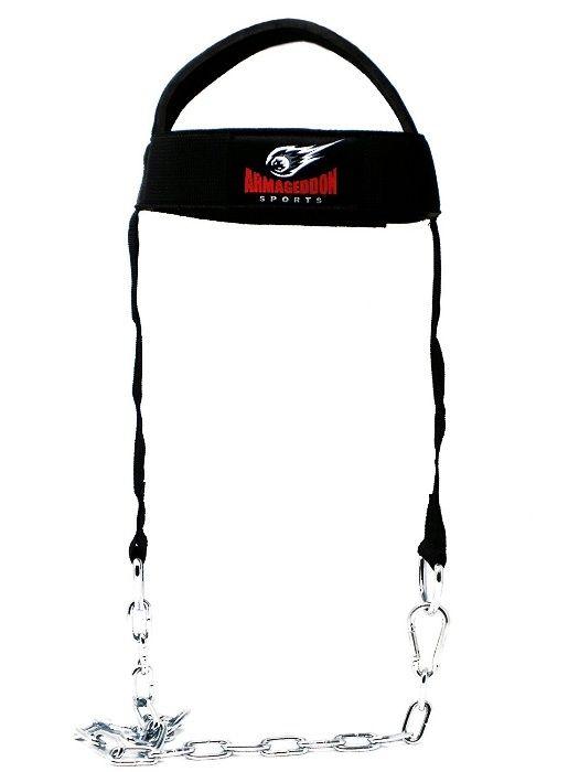 Шлем за трениране на врат с метална верига (оглавник)