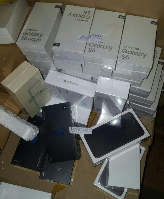 Galaxy S4 até S8 & IPhone 4 até iphone 7 Cada Telemóvel com Seu preço