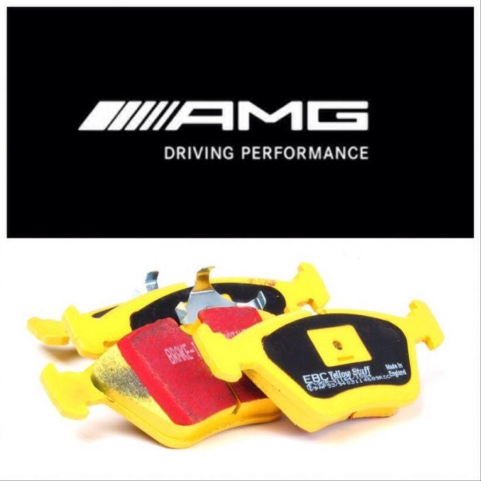 Накладки за Мерцедес МЛ63 АМГ предни Mercedes ML 63 AMG W164 В164 Р63