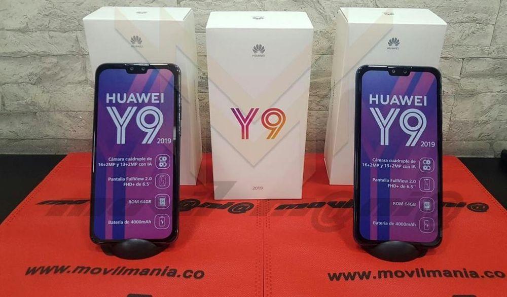 Huawei Y9 2019 dispõe de uma memória de 128GB