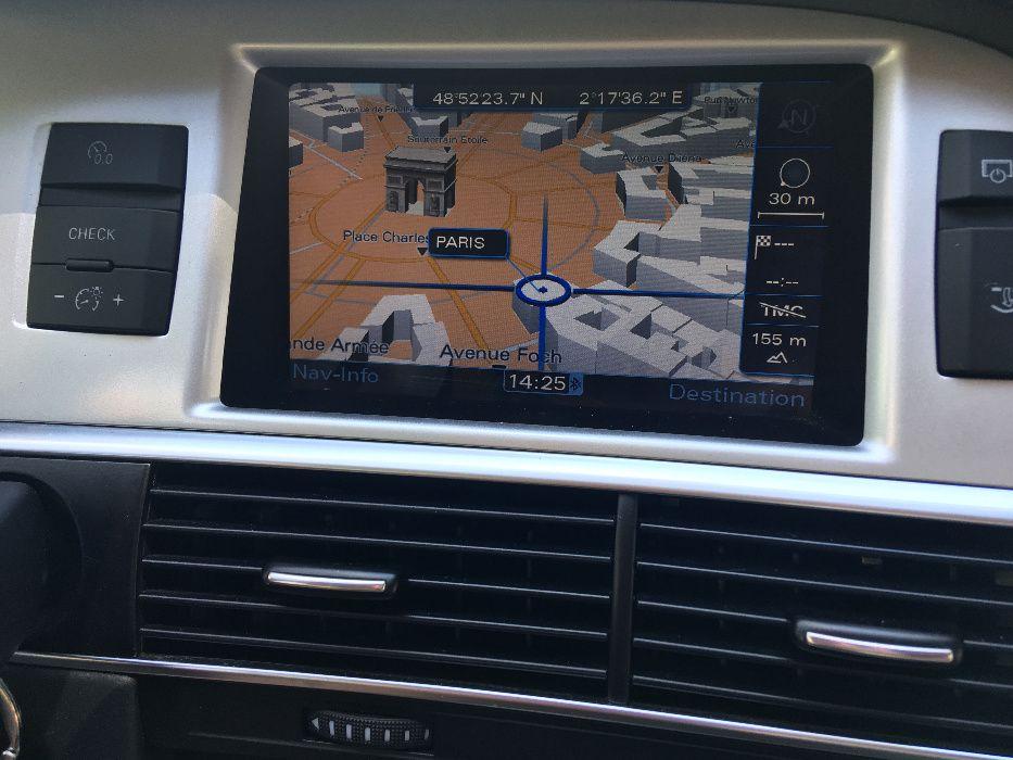 Диск AUDI MERCEDES BMW 2019год.навигация ауди мерцедес бмв