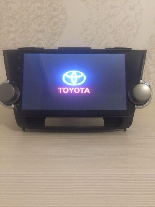 Штатная магнитола Тойота Хайландер ( Toyota Highlander )