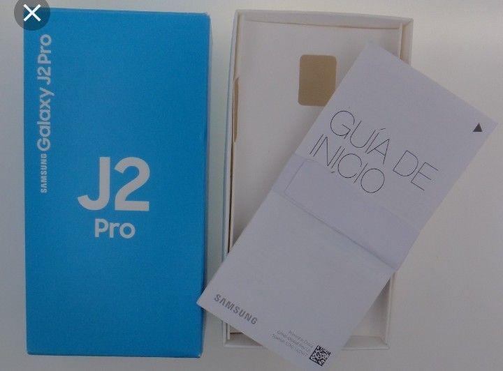 Samsung j2 pro selado