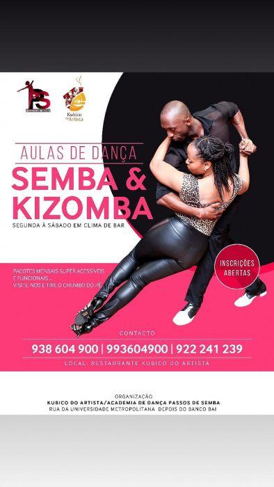 Aulas de Semba/Kizomba