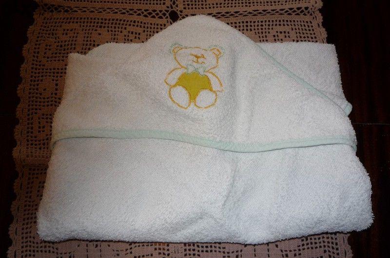Бебешка хавлийка за баня