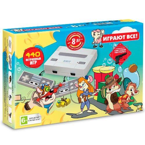 Игровая приставка DENDY Chip & Dale 440 ИГР \ магазин GAMEtop