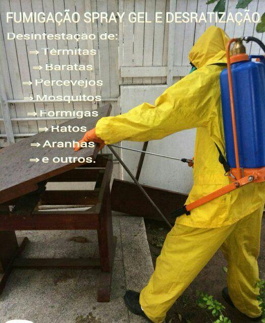 Fumigação | Spray | Gel | Desratização