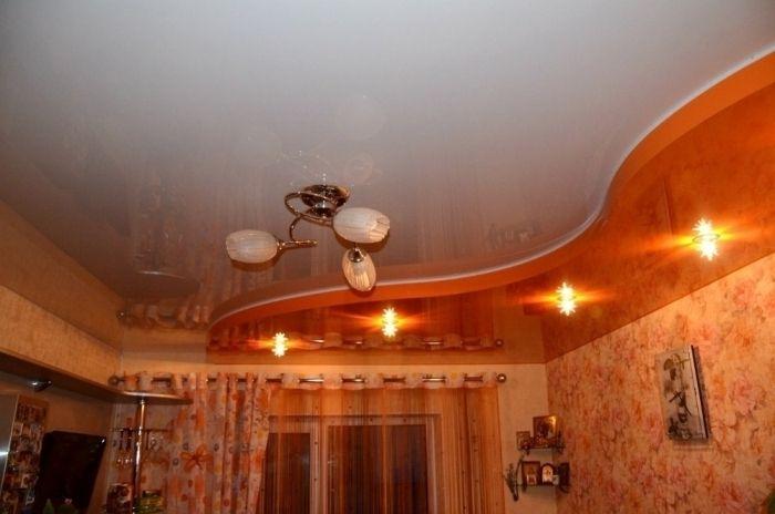 Натяжные потолки 1100 кв Ролл Шторы