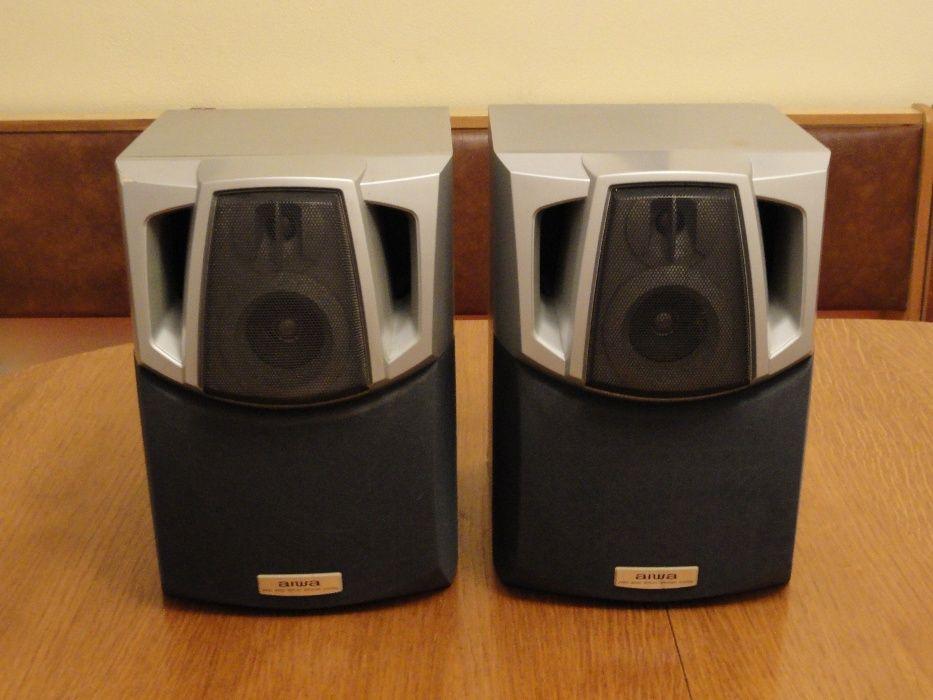 AIWA sx-nsz20 6 Ohm , boxe active mini DTK stereo SP-610 cu alim 220 V