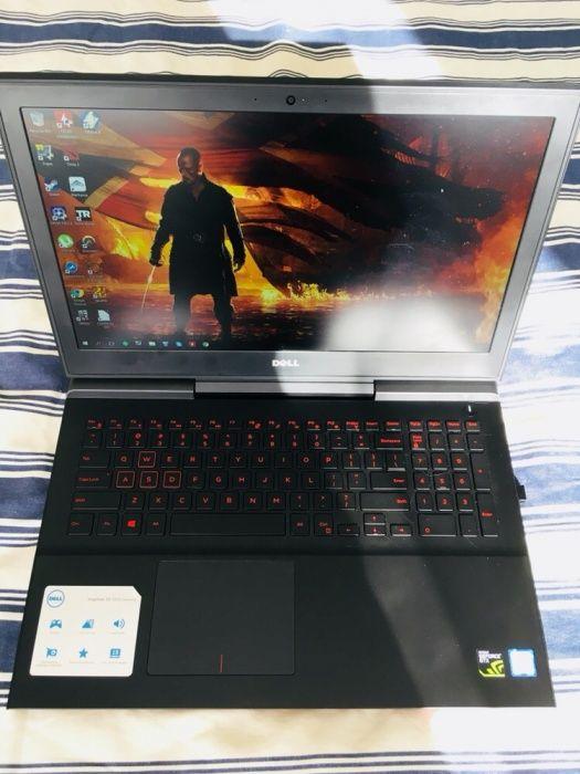 Laptop Dell7567 4K(3ani garantie) i7-7700HQ,SSD+HDD,8GB DDR4,GTX1050Ti