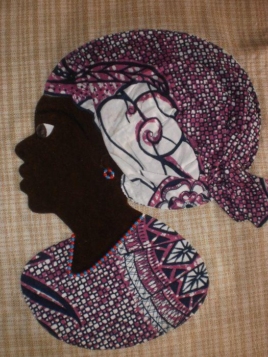 Африканка-картина от текстил върху текстил-варианти гр. София - image 11