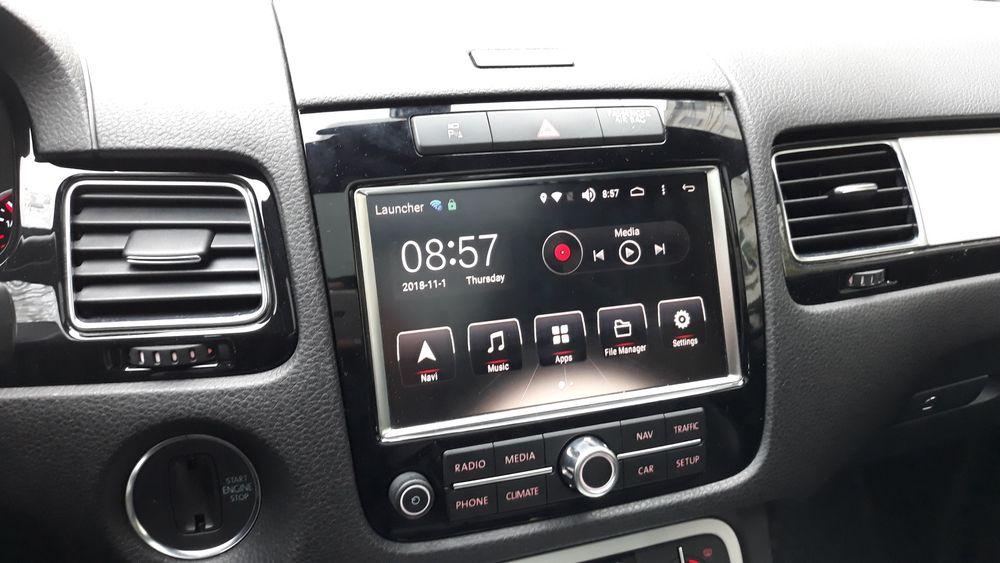Interfata N850 cu Android WIFI SD USB Navi 4G pentru VW Touareg 7P