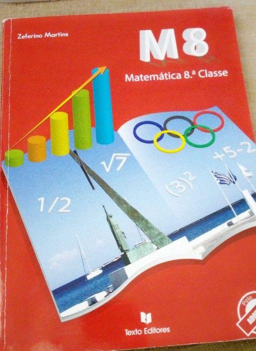 Livros 8o classe como novo