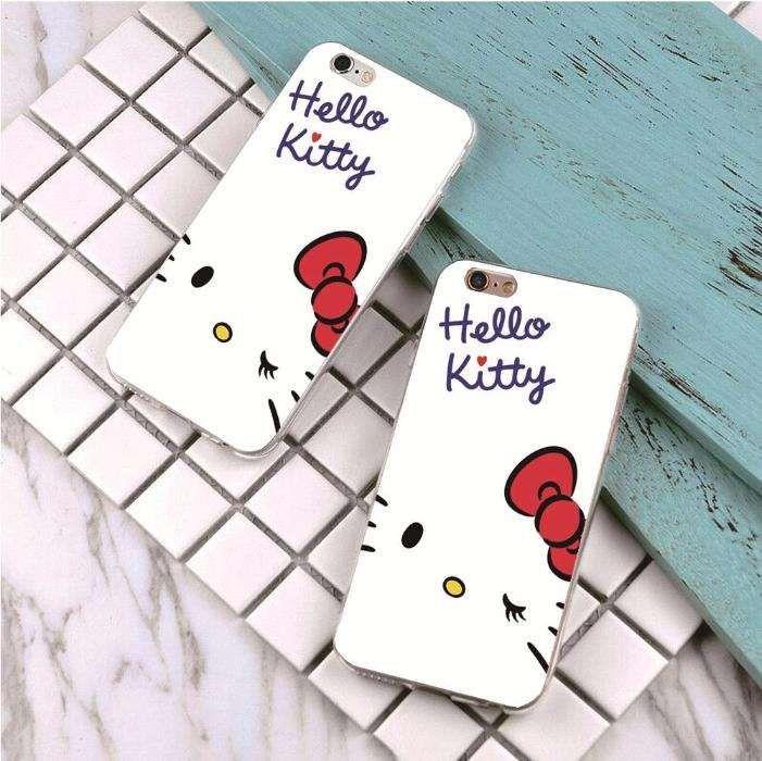 Husa Iphone 7 -- Model Hello Kitty -- Hard