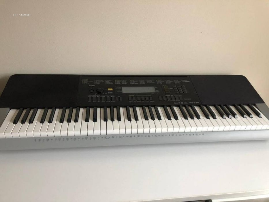 Piano/orgao casio WK 240