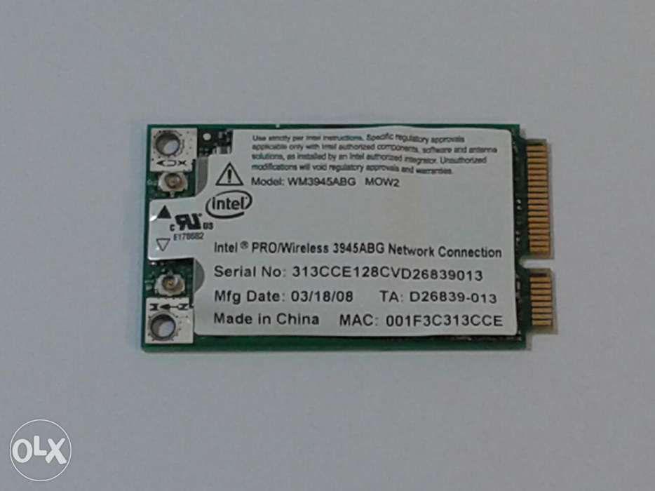 Placa retea wireless Mini PCI-E Intel