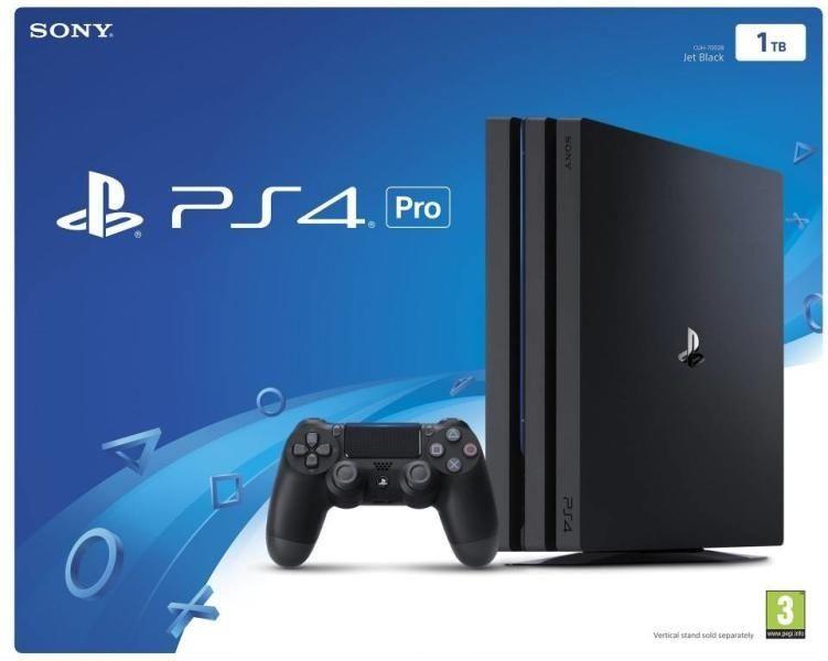 Playstation4 PRO 1TB/Плейстейшън 4 Про/Два Джойстика+1 Игра/НОВ/12мгар