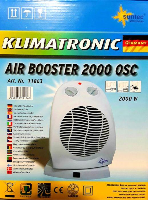 AEROTERMA 2000 W KLIMATRONIC (Germania) cu functie oscilatie - NOUĂ