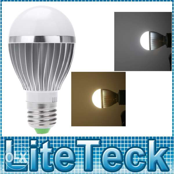 Bec LED 7W/220V cu senzor de sunet si de lumina