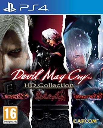 Devil may cry HD collection ps4 selado
