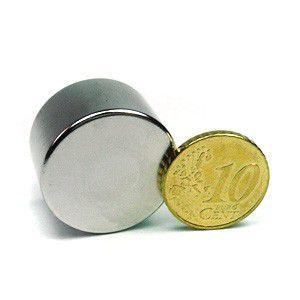 Magnet neodim disc 25 x 15 mm N50 puternic tir eoliene generatoare