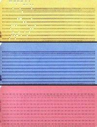 antichităţi IT de colecţie : cartele calculator din anii '60