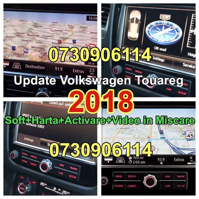 Actualizare Harti RNS 850 Volkswagen Touareg VW 2018 Versiunea V12