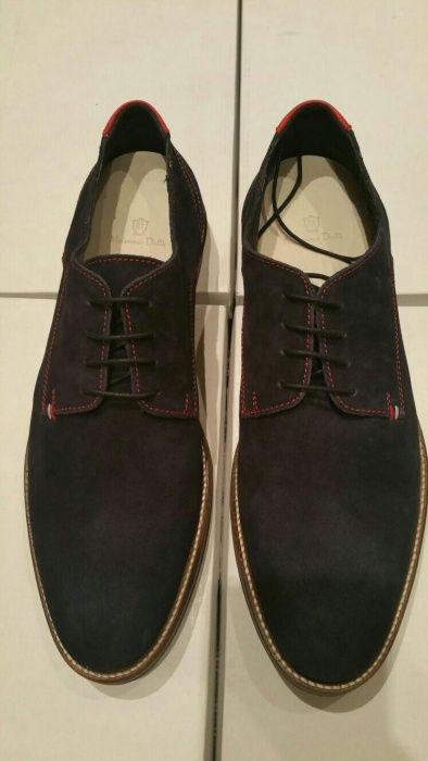 Pantofi din piele Massimo Dutti.