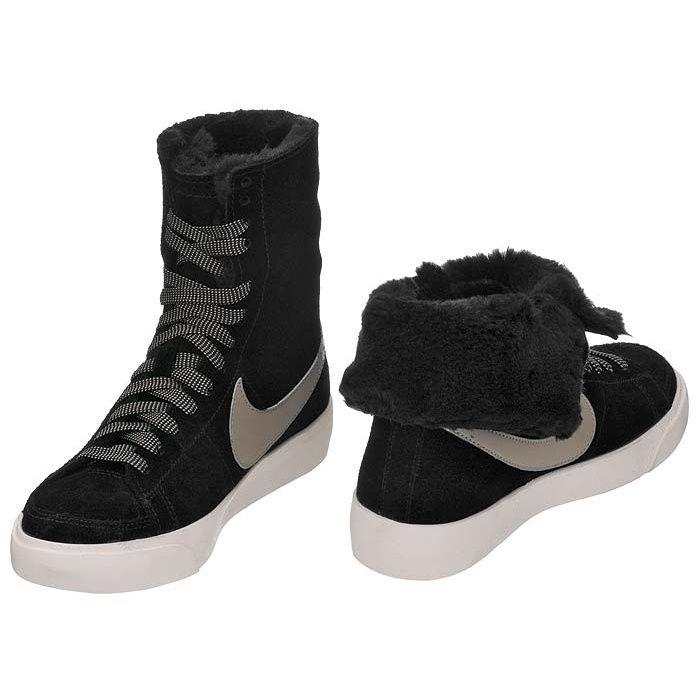 Nike 38 unisex blazer highroll black