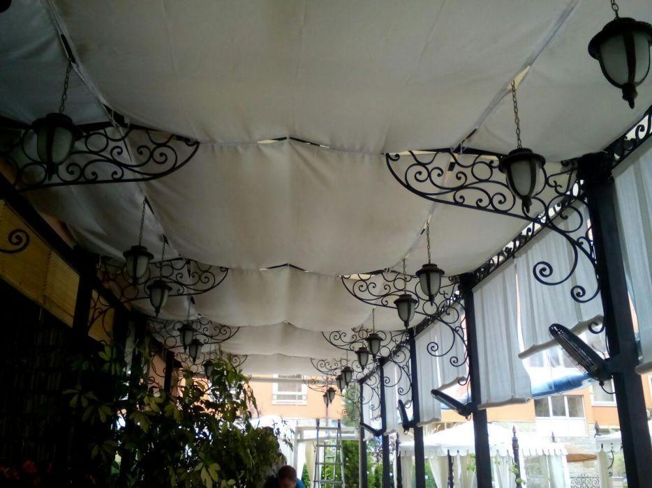 Текстилни тавани