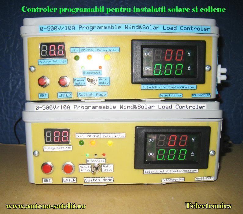 Controler sarcina programabil energie eoliana