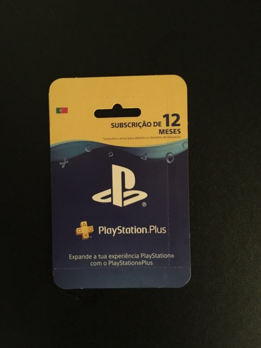PS plus 1 Ano