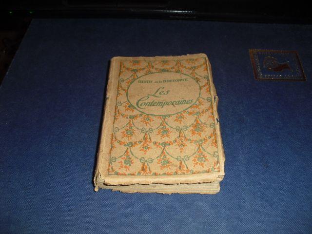 "Restif de la Bretonne "" Les contemporaines "" Carte in Miniatura 1800'"