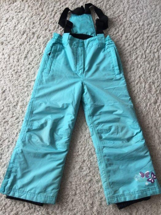 Pantaloni copii ski/ snowboard, 122 cm
