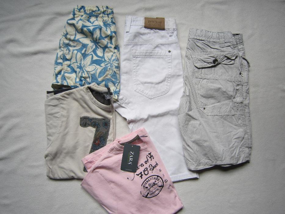 Комплект 2 блузи / 2 панталона и бански ZARA ръст 152 / 11-12 г