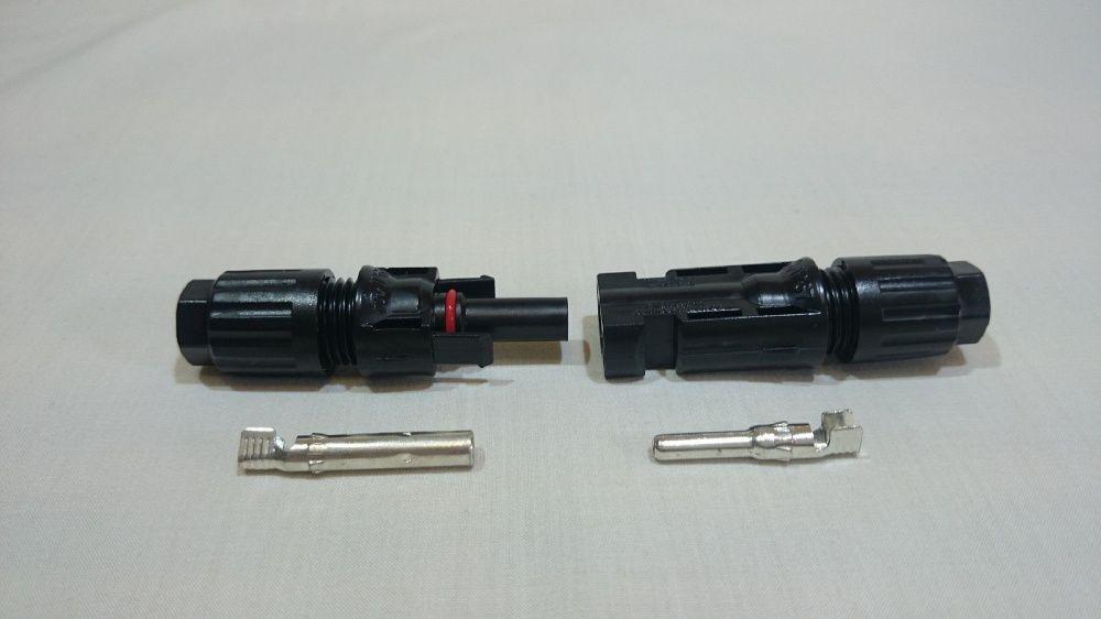 Set conectori MC4, Mufe MC4, Conectori solari pentru Panouri Solare